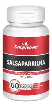 Salsaparrilha 60 cápsulas - 500mg - Semprebom
