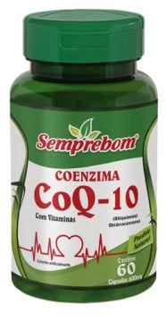 Coenzima Q-10 com Vitaminas - 60 cápsulas - 600mg - Semprebom