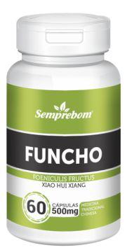 Funcho - 60 cápsulas - 500mg - Semprebom