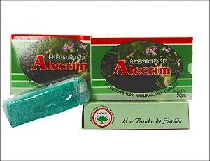 SABONETE DE ALECRIM - 90G - BIONATURE - 1 UNIDADE