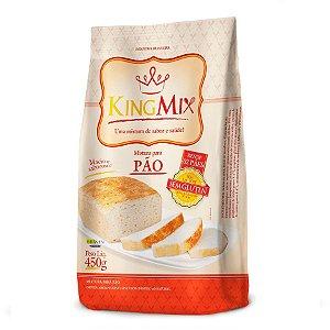 Mistura para Pão Sem Glúten King Mix 450g