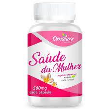 Saúde da Mulher - 60 cápsulas - 500mg - Denature