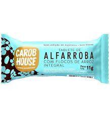 ALFARROBA BOMBOM FLOCOS DE ARROZ 12G CAROB HOUSE