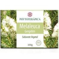 SABONETE VEGETAL DE MELALEUCA E GERGELIM - 100G - PHYTOTERAPICA
