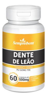 DENTE DE LEAO 60 CAPSULAS DE 500MG SEMPREBOM