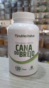 Cana do Brejo - 120 Cápsulas - 250mg - Nutri Extratus