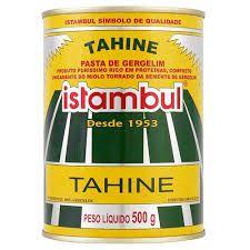 PASTA DE GERGELIM (TAHINE) - 500G - ISTAMBUL