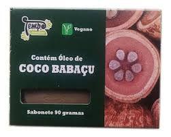 Sabonete de Coco Babaçu Vegano - 90g - Tempo Cosméticos