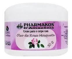CREME DE ROSA MOSQUETA - 30G - PHARMAKOS D'AMAZONIA