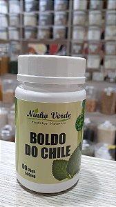 BOLDO DO CHILE - 60 CAPSULAS DE 500MG - NINHO VERDE