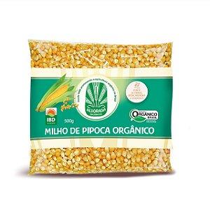 Milho de Pipoca Orgânico - 500g - Alvorada Orgânicos