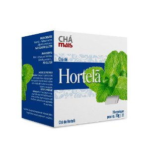 CHA DE HORTELA - 10 ENVELOPES - CHA MAIS