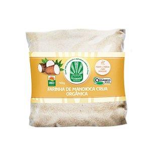 Farinha de Mandioca Crua Orgânica - 500g - Alvorada Orgânicos