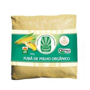 Farinha de Milho Orgânica Fubá - 500g - Alvorada Orgânicos