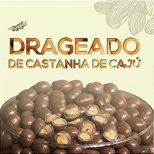 DRAGEADO CHOCOLATE AO LEITE COM CASTANHA DE CAJU - 100G