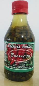 Pimenta Cumari - 80g - Baianeira (Ardência de 0 a 10: 6)