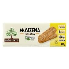 Biscoito de Maizena Integral - 145g - Mãe Terra
