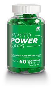 Phyto Power Caps - 60 Cápsulas de 500mg - Vida Natural (Emagrecedor)