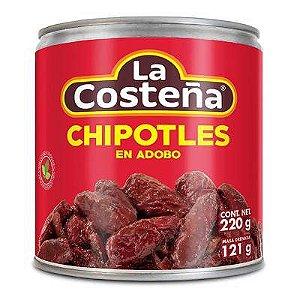 Pimentas Mexicanas Chipotles Temperadas (SOB ENCOMENDA) - 220g - La Costeña