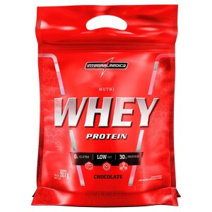 REFIL WHEY NUTRI CHOCOLATE INTEGRAL MEDICA 907G