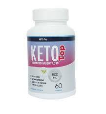 Keto Top - 60 Cápsulas de 500mg - Vida Natural (Emagrecedor)