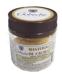 Manteiga de Cacau 100% Natural - 60g - Gobeche