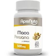 MACA PERUANA CAPSULAS 60 X 500MG APIS NUTRI