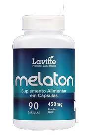 Melaton - 90 Cápsulas de 430mg - LaVitte