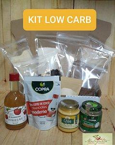 Kit nº 2 Low Carb c/ 15 ingredientes (S/ Glúten) c/ Sacos ZIP+ BRINDE