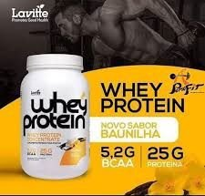 WHEY PROTEIN CONCENTRATE BAUNILHA - 910G - LAVITTE