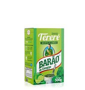 TERERÉ MENTA E LIMÃO BARÃO 500 gr
