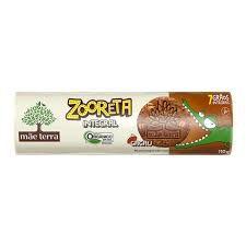 Biscoito Integral e Orgânico (Cacau) - 110g - Zooreta Mãe Terra