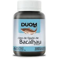 OLEO FIGADO DE BACALHAU  60 CAPSULAS 250MG DUOM