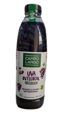 Suco de Uva Integral (Sem Adição de Açúcar) - 900ml - Campo Largo