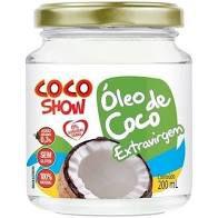 OLEO DE COCO EXTRA VIRGEM COCO SHOW COPRA 200ML