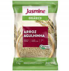 Arroz Agulhinha Integral Orgânico - 1Kg - Jasmine