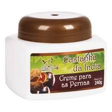 CREME PARA AS PERNAS DE CASTANHA DA INDIA - 240G - SAN JULLY