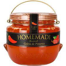 Geleia de Pimenta Gourmet (Dedo de Moça) - 320g - Homemade