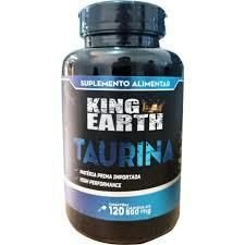 Taurina - 120 Cápsulas de 500mg - King Earth