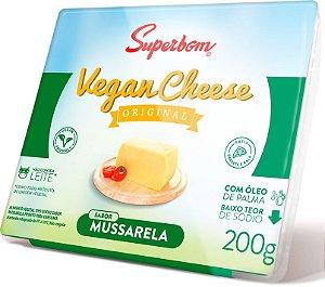 Queijo Vegano Mussarela - 200g - Superbom [REFRIGERADO]