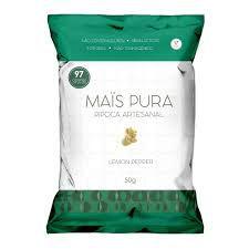 Pipoca Artesanal (Lemon Pepper) - 50g - Mais Pura