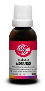 Essência Alimentícia de Morango - 30ml - Arcolor