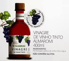 VINAGRE DE VINHO TINTO 4 DE ACIDEZ   400ML   ALMAROMI