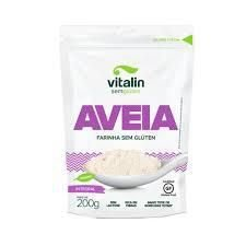 Farinha de Aveia Integral Sem Glúten (Vegano) - 200g - Vitalin