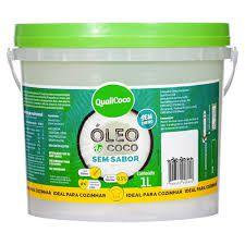 OLEO DE COCO SEM SABOR - 1L - QUALICOCO