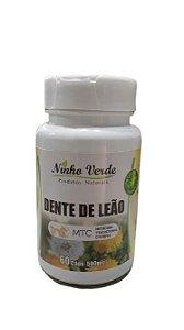 DENTE DE LEAO 60 CAPSULAS X 500MG NINHO VERDE