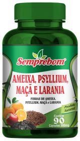 AMEIXA PSYLLIUM MACA E LARANJA 90 CAPSULAS SEMPREBOM