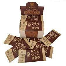 CHOCOLATE GOURMET 54 CACAU SEM LEITE, VEGANO E SEM GLUTEN