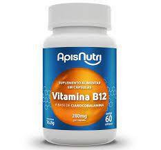 VITAMINA B12 CIANOCOBALAMINACAPSULAS 280MG APIS NUTRI