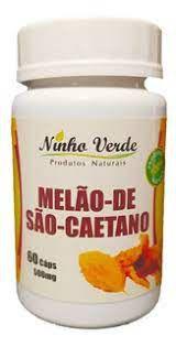 MELAO DE SAO CAETANO - 60 CAPSULAS DE 500MG - NINHO VERDE